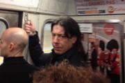 Dans le métro à Paris 2013